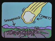 Bart's Comet 50