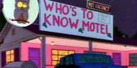 Who's To Know Motel