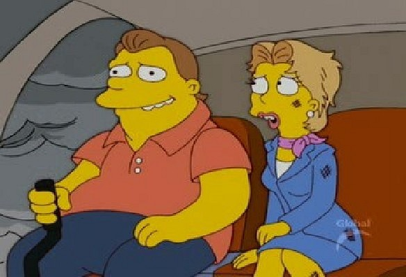 File:Barney gumble and chloe talbot.jpg