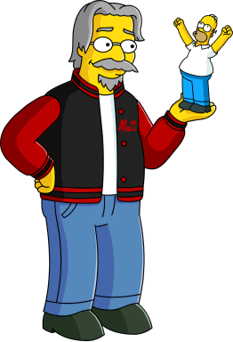 Matt Groening (character) | Simpsons Wiki | Fandom powered by Wikia: simpsons.wikia.com/wiki/Matt_Groening_(Character)