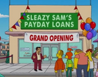 Sleazy Sam's Payday Loans