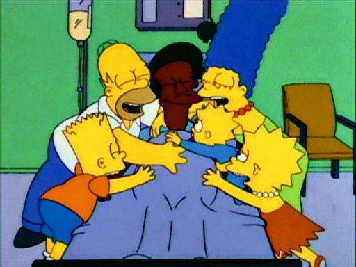 File:Simpson Family hug Apu.jpg