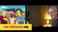 THE SIMPSONS Guest Starring Christopher Lloyd ANIMATION on FOX