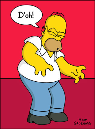 Image result for homer simpson doh
