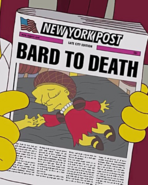 Bard to Death article