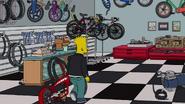 Barthood Simpson and grandson bike customizing 2