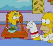 Homer and maggie