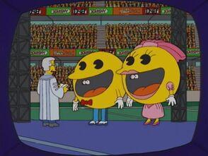 Pacman Simpsons