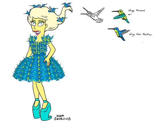 File:Lady Gaga Simpsons style.png