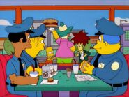 Cops in Krusty Burger 2