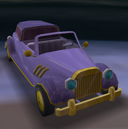 Mr Burns limo