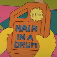 Hair In A Drum