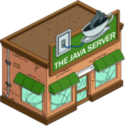 The Java Server Tapped Out