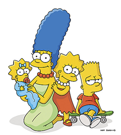 File:Marge, Maggie, Lisa & Bart.png