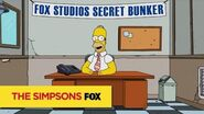THE SIMPSONS Homer live - Homer for President ANIMATION on FOX