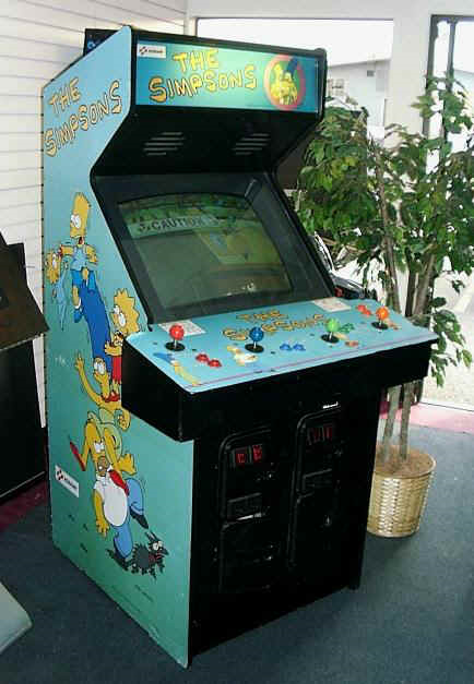 The Simpsons The Arcade Game