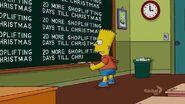 A Tree Grows in Springfield Chalkboard Gag