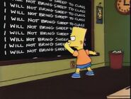 New Kid on the Block Chalkboard Gag
