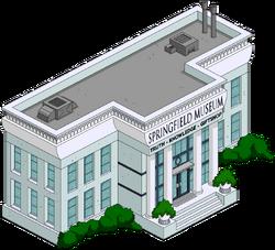 Springfield Museum Menu