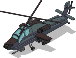 Attack Helicopter Menu