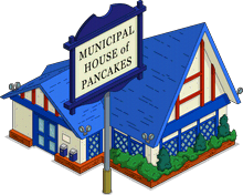 Municipal House of Pancakes Icon