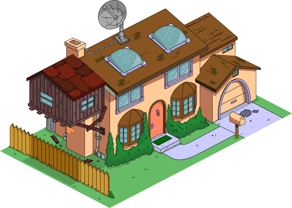 Future Simpson S House The Simpsons Tapped Out Wiki