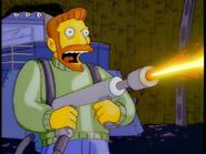 Scorpio flamethrower
