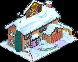 Christmas Flanders Home