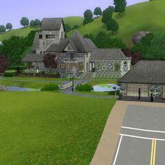 Das Zuhause der Grusels in <i>Die Sims 3</i>