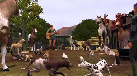 The Sims 3 Pets Launch Trailer