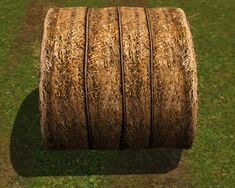 Round Hay Bale