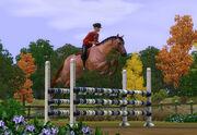 TS3Pets horse jump