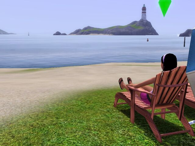 File:Lounging at the beach.jpg
