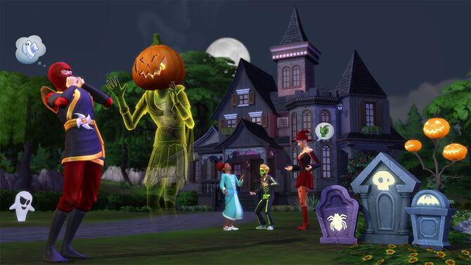 TS4 spooky
