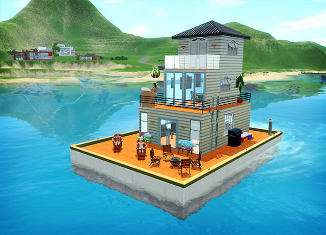 File:Houseboat island paradise.jpg