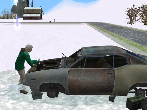 File:Fixing broken down car.jpg