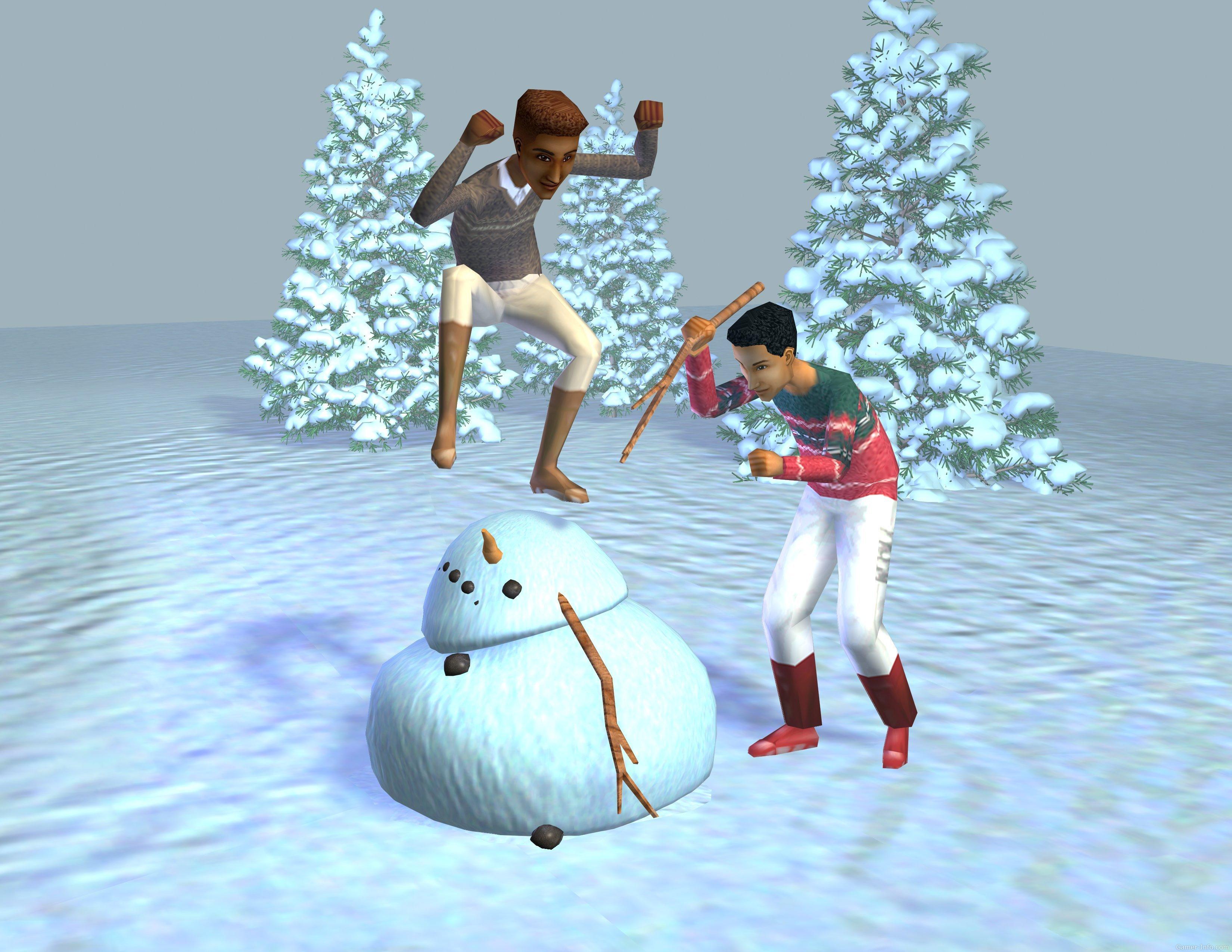 File:Sims1VacationKillingSnowman.jpg