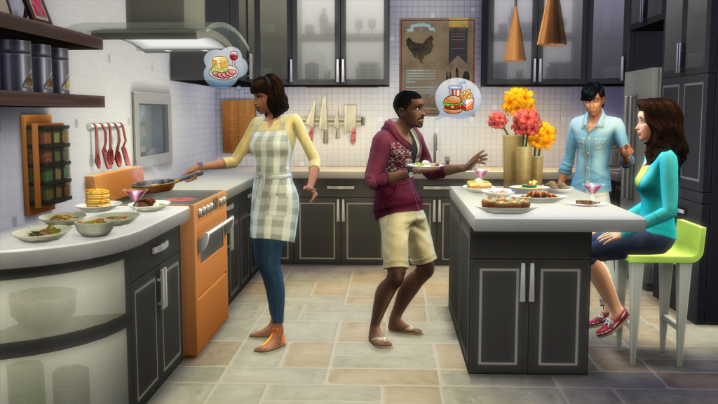 The Sims 4 Cool Kitchen Stuff The Sims Wiki Fandom