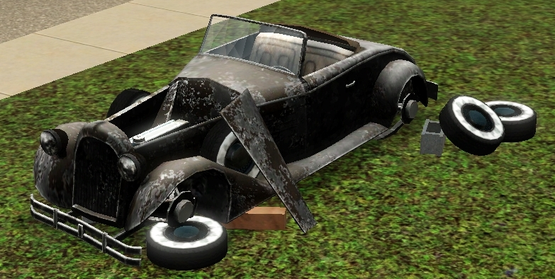 sims 3 objects  cars movie