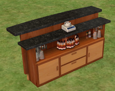 Ts2 where's my mini umbrella bar