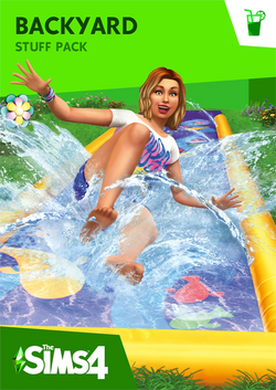 The Sims 4 Backyard Stuff Cover