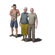 Clavell Family (The Sims 3)