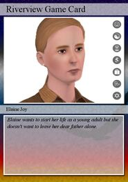 Elaine joy playing card