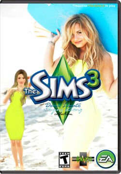 The Sims 3 Demi Lovato StuffV2 Cover