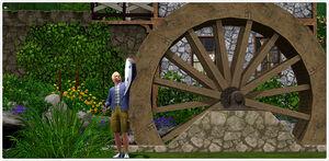 Mill set watermill