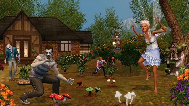 File:Ts3 supernatural fairzombie garden.jpg