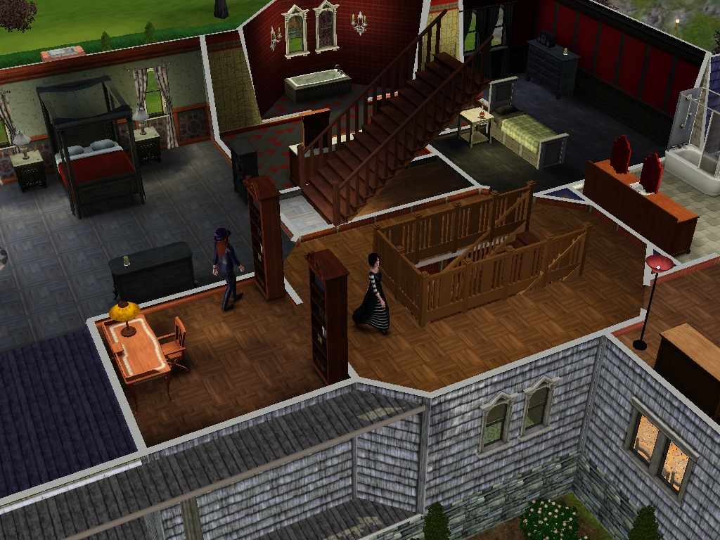 My Home Design Story Cheats Image Goth Home 1 Jpg The Sims Wiki Fandom Powered