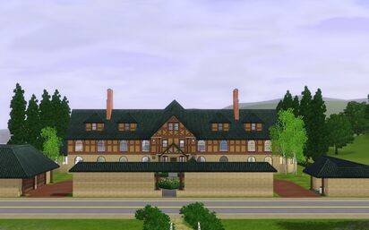 The Sims 3 - Sunset Valley - Landgraab Estate - 3br, 4ba