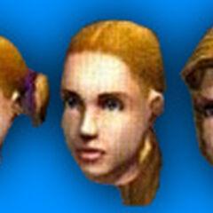 Algunos peinados no se encuentran en el juego