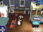 The Sims monkey butler
